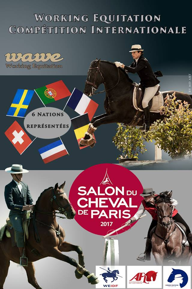 Wawe world association for working equitation for Salon du cheval a paris
